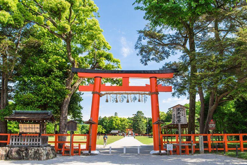 上賀茂神社 ~平安京の守り神で馬に縁がある神社~