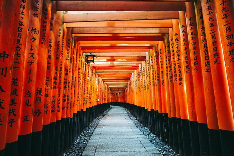 【京都観光2021】モデルコースで巡る!伏見稲荷~清水寺~錦市場