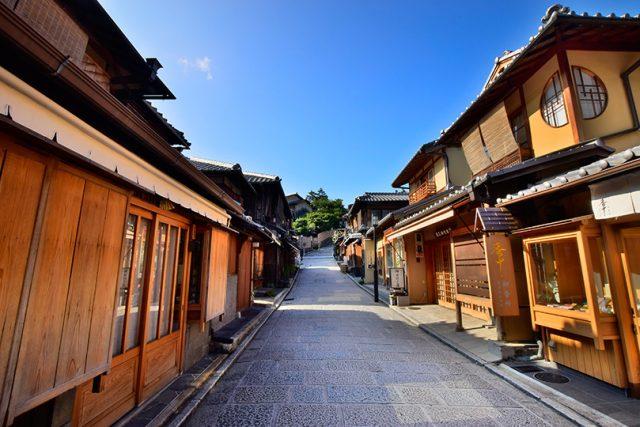 清水寺創建時からの歴史ある清水坂
