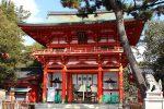 玉の輿とあぶり餅で知られる今宮神社
