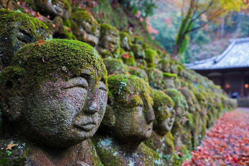 ユーモラスな1200羅漢で知られる愛宕念仏寺