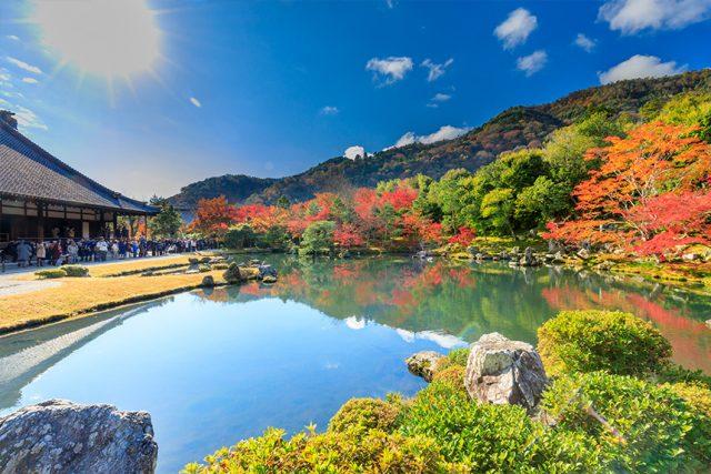 【2021年秋版】京都嵐山の紅葉満喫モデルコース!