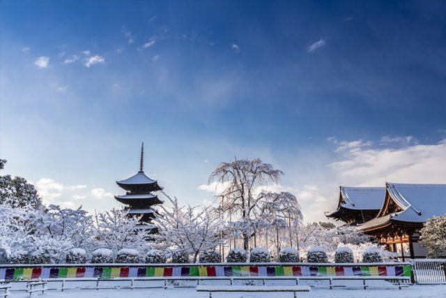 「弘法さん」でおなじみの東寺