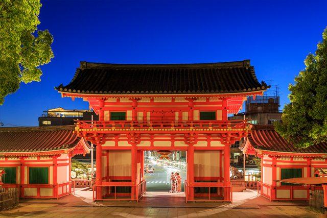 祇園祭が開催される八坂神社