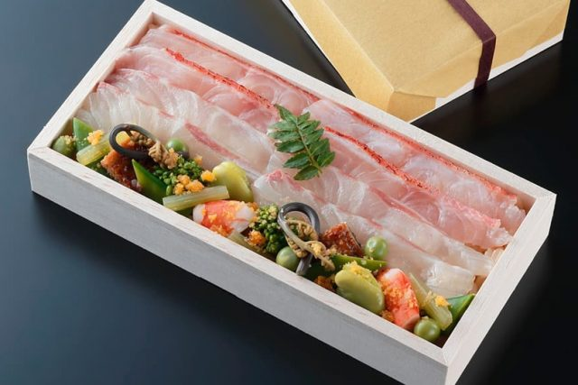 紫野和久傳 ジェイアール京都伊勢丹店「鯛ちらし」